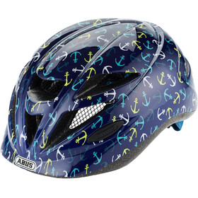 ABUS Hubble 1.1 Casco Niños, blue anchor